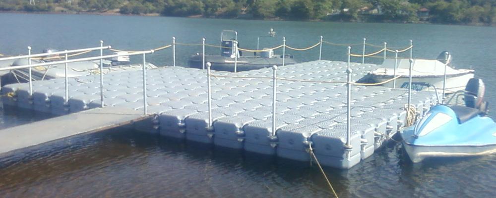 Floating Dock Floating Platform Incodock Incodock